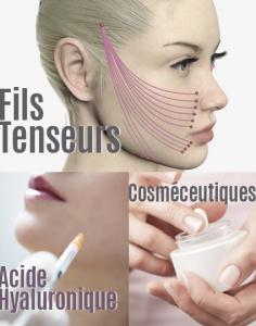 Hydrafacial, Laser, peeling, fils tenseurs, soins du visage, rajeunissement, dermato-esthétique,